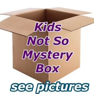 6 Piece Kids Not So Mystery Box Boy & Girl